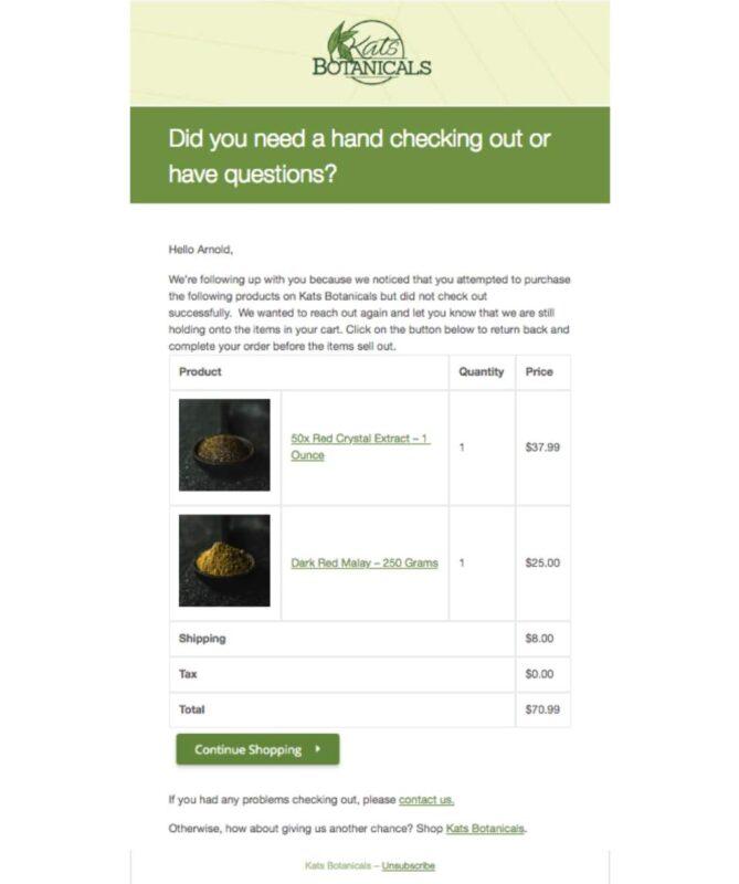 Три необхідні електронні листи для кожного магазину e-Commerce